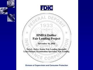 Division of Supervision and Consumer Protection
