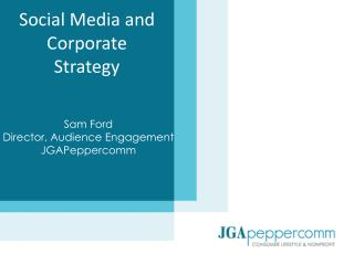 Social Media and Corporate Strategy