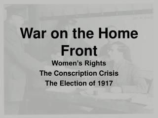 War on the Home Front