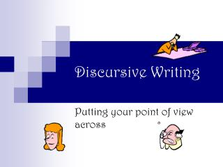 Discursive Writing
