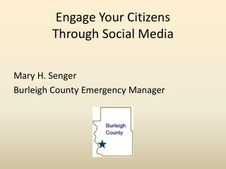 Engage Your Citizens  Through Social Media