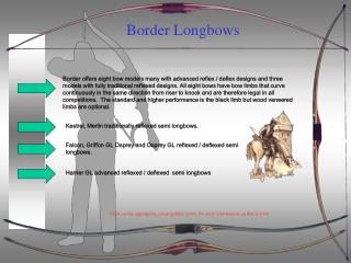 Border Longbows