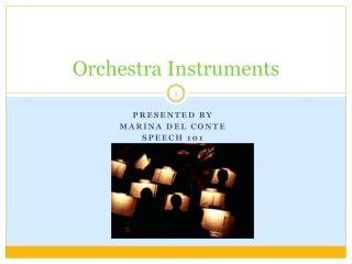 Orchestra Instruments