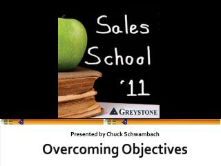 Overcoming Objectives