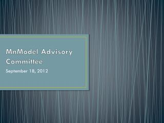 MnModel Advisory Committee