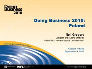 Doing Business 2010: Poland
