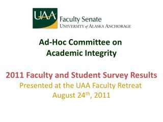 Ad-Hoc Committee on  Academic Integrity