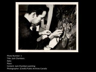 CARFAC Ontario Archive Photos
