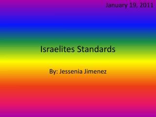 Israelites Standards