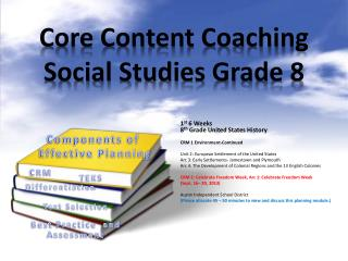 Core Content Coaching Social Studies Grade 8