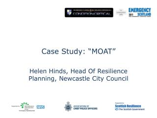 "Case Study: ""MOAT"" Helen Hinds, Head Of Resilience Planning, Newcastle City Council"