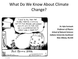 What Do We Know About Climate Change?