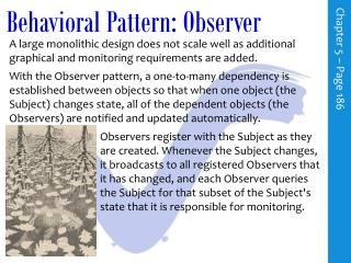 Behavioral Pattern: Observer