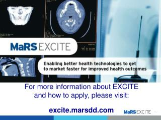For more information about EXCITE  and how to apply, please visit:  e xcite.marsdd