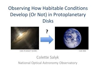 Observing How Habitable Conditions Develop (Or Not) in  Protoplanetary  Disks