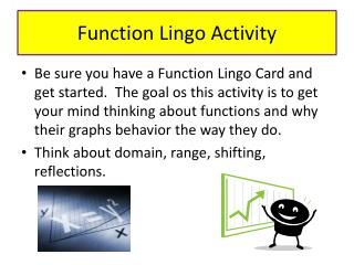 Function Lingo Activity