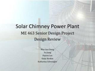 Solar Chimney Power Plant