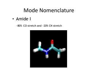 Mode Nomenclature
