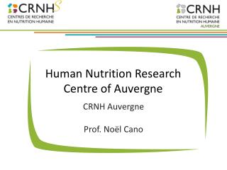 Human  Nutrition  Research  Centre of Auvergne