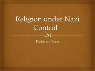 Religion under Nazi Control