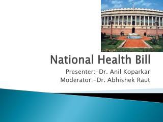 National Health Bill