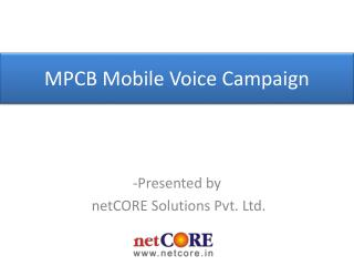 -Presented by netCORE  Solutions Pvt. Ltd.