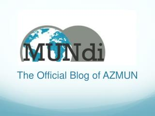 The Official Blog of AZMUN