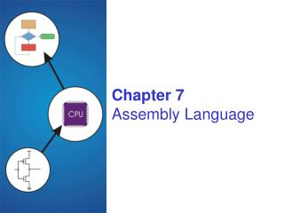 Chapter 7 Assembly Language