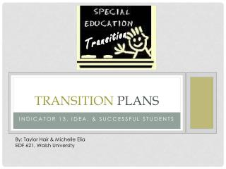 Transition  Plans