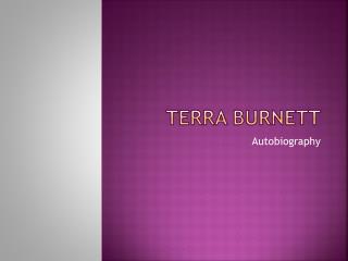 Terra Burnett