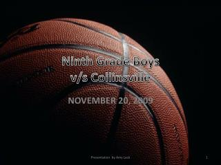 Ninth Grade Boys v/s Collinsville