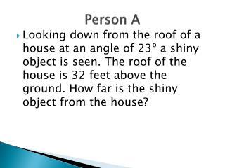 Person A