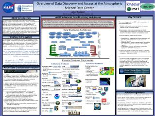 Overview of Data Discovery and Access at the Atmospheric Science Data Center