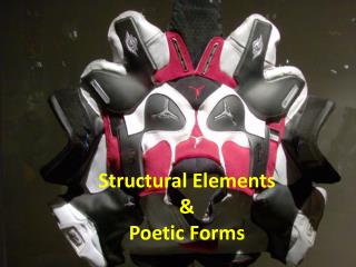 Structural Elements & Poetic Forms