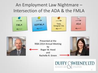 An Employment Law Nightmare – Intersection of the ADA & the FMLA