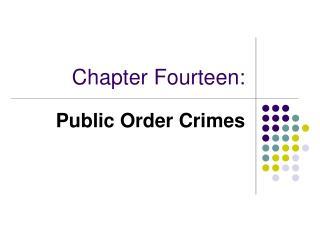 Chapter Fourteen: