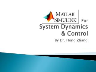 For  System Dynamics  & Control