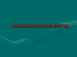 Sterilization   Disinfection