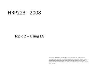 HRP223 - 2008