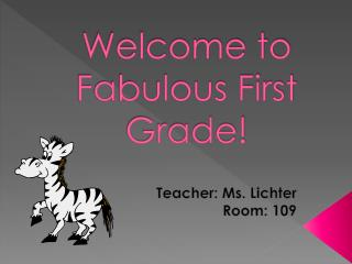 Welcome to Fabulous First Grade!