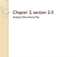 Chapter 2, section 2-5