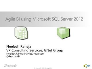 Agile BI  u sing Microsoft SQL Server 2012