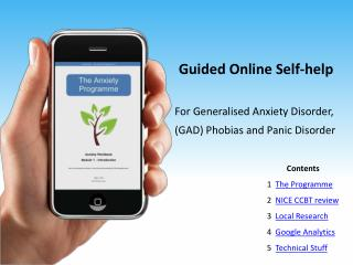 Guided Online Self-help