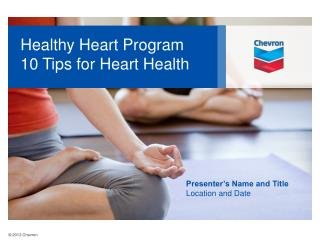 Healthy Heart Program 10 Tips for Heart Health