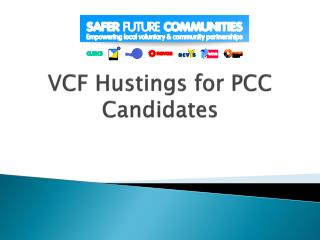 VCF Hustings for PCC Candidates