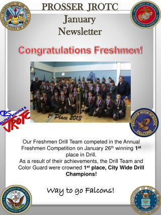 PROSSER  JROTC January Newsletter