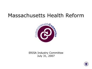 MAssachusetts Health Reform