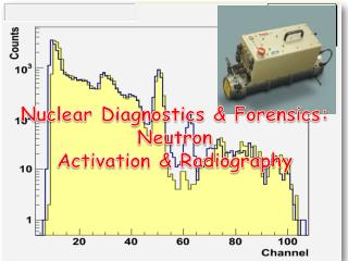 Nuclear Diagnostics & Forensics: Neutron  Activation & Radiography