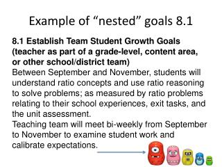 "Example of ""nested"" goals 8.1"