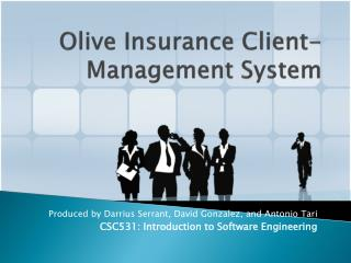Olive Insurance Client-Management System